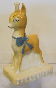 Carlton Ware Babycham Faun on Base - SOLD